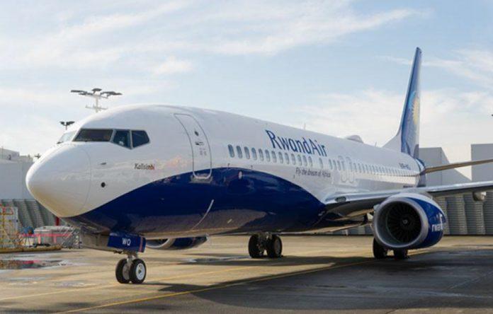 RwandAir Boeing