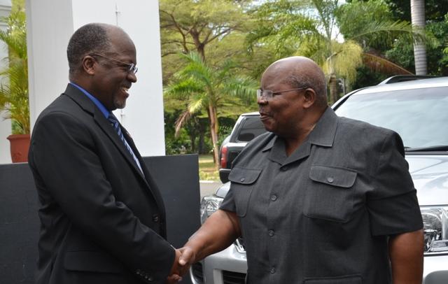 Mkapa Meets Magufuli