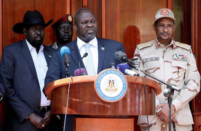 Riek Machar Sworn in as Vice President